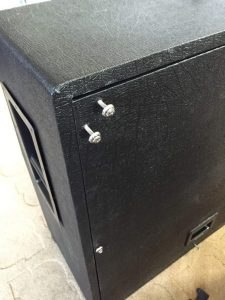 DIY Marshall 1960a back panel screw alignment