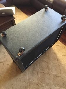 DIY Marshall 1960a casters