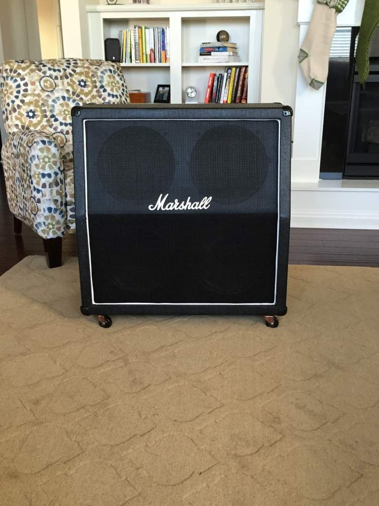 Finished DIY Marshall 1960a Cabinet